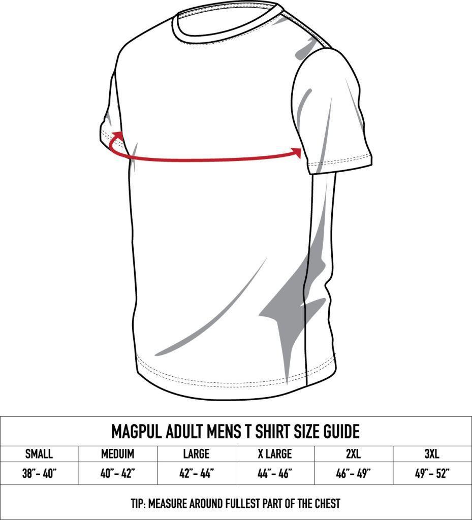 Magpul Megablend Icon T-Shirt - Charcoal